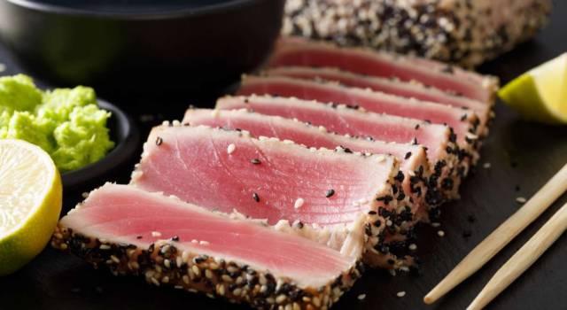 Trancio di tonno al sesamo: un secondo piatto di gran classe