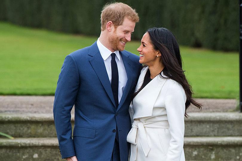 Il Principe Harry d'Inghilterra eMeghan Markle