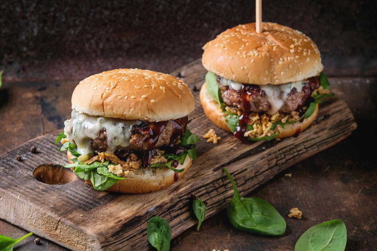 Panini hamburger fatti in casa