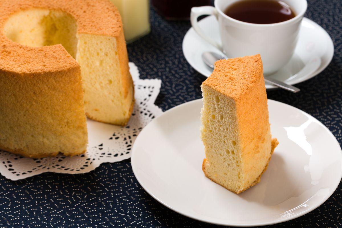 Chiffon cake al limone senza glutine