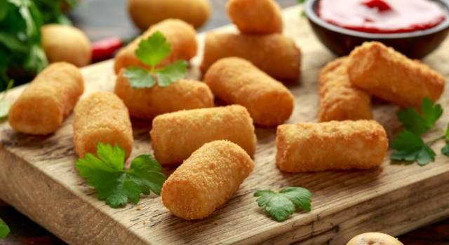 Street food o aperitivo? Ecco al ricetta delle crocché di patate alla palermitana
