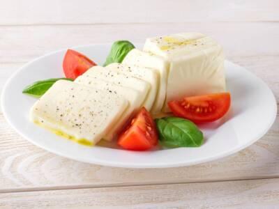 Mozzarella vegana fatta in casa