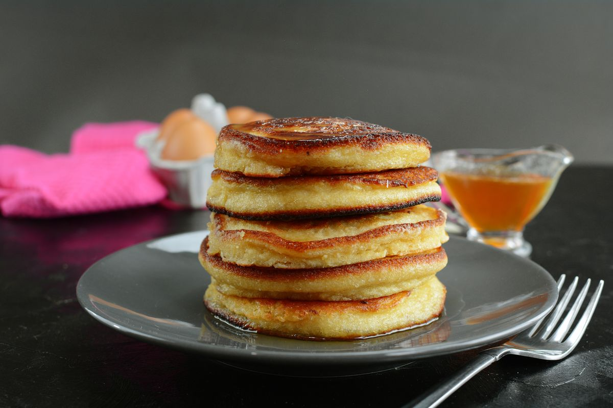 pancake senza latte