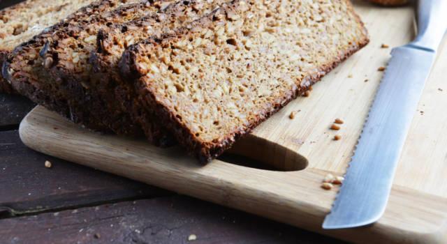 Pane senza glutine (con farina di fagioli): il lievitato proteico che fa bene