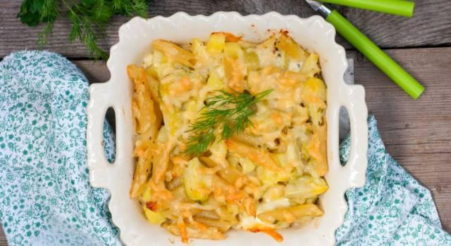 Pasta e patate al forno: una ricetta… da leccarsi i baffi!