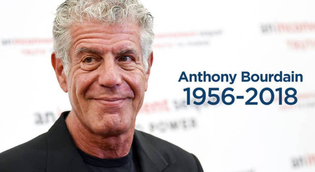 Anthony Bourdain, chef di fama internazionale, è morto