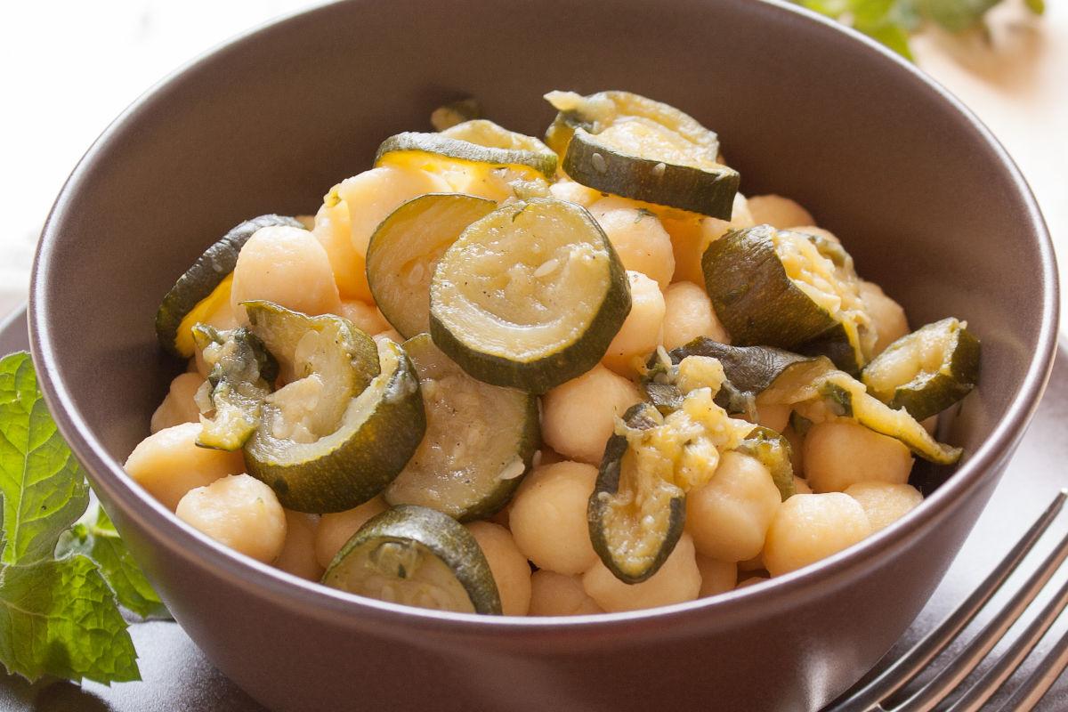 Gnocchi di zucchine senza glutine