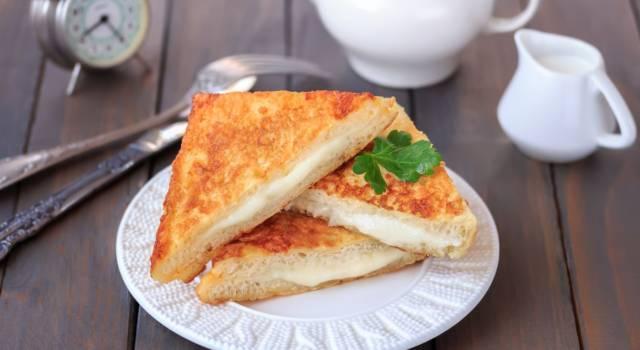 Mozzarella in carrozza: senza glutine, ma sfiziosissima