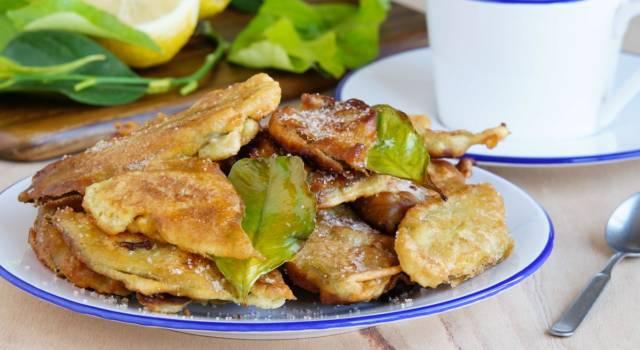 Paparajotes: le frittelle di limone spagnole