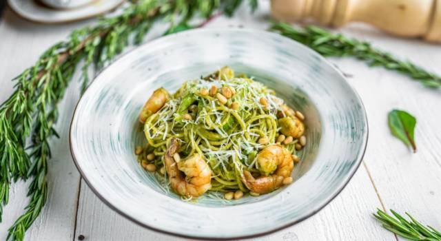 Buona, fresca e saporita: è la pasta con zucchine e gamberetti!