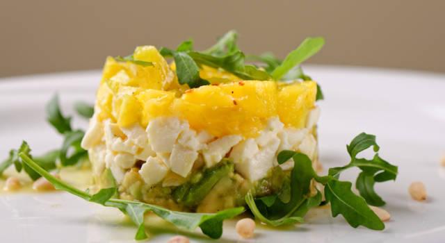 Tartare di merluzzo al mango: colorata e deliziosa!