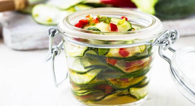 Zucchine in vasocottura: leggerissime e veloci da fare