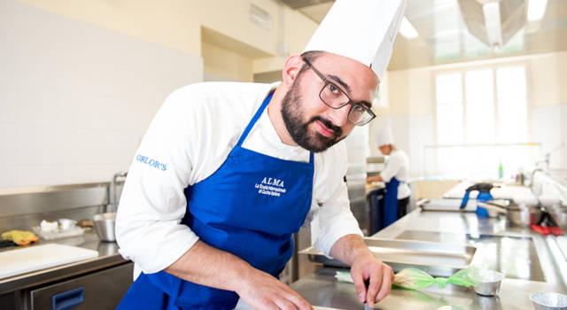 Il Biellese Andrea Ponghetti è tra i Cuochi Professionisti diplomati nel 2018 ad ALMA