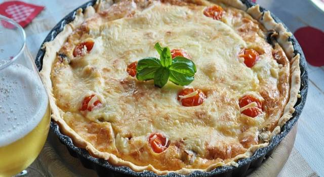 Quiche bacon e cipolla: come si prepara!