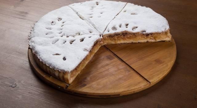 Crostata-strudel: troppo buona!