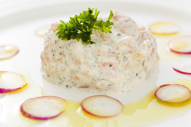 Mousse di pesce bianco