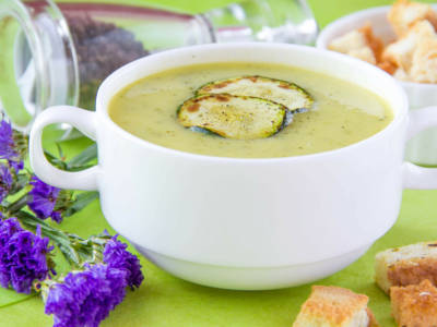 Gazpacho di zucchine: buonissimo e light