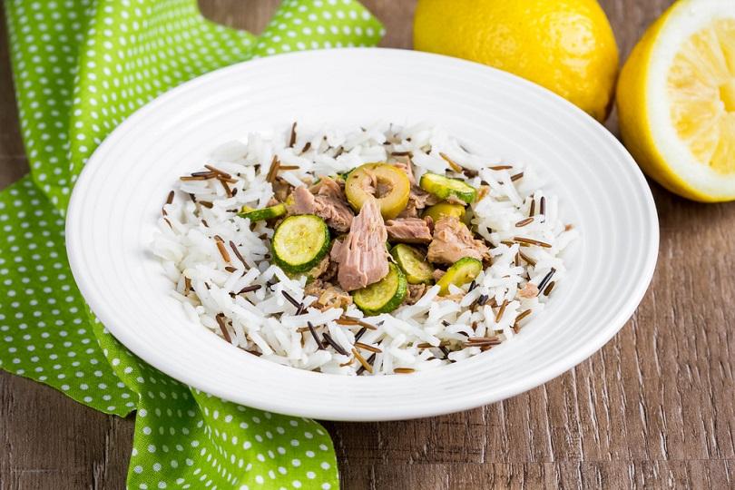 insalata di riso e zucchine