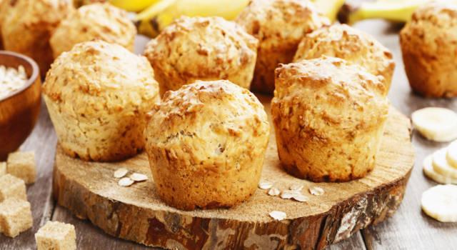 Muffin alla banana: soffici, deliziosi e facili da preparare