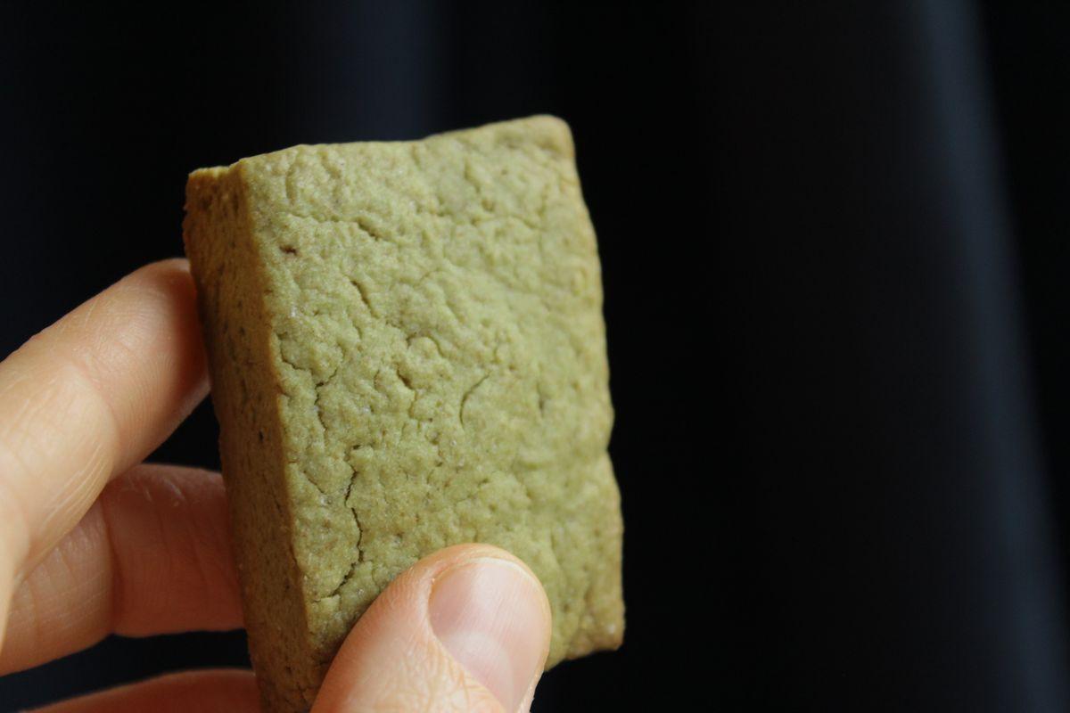 Pasta frolla vegan con avocado