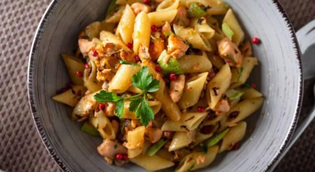 Pasta salmone e zucchine per un pranzo ricco di gusto!