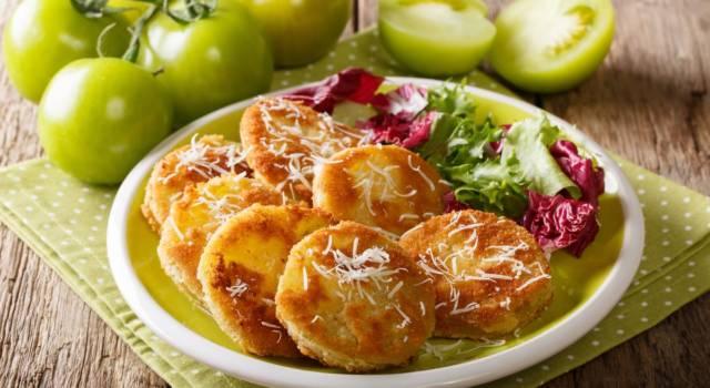 Pomodori verdi fritti: un piatto croccante, da Oscar