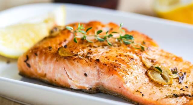 Filetto di salmone alla provenzale