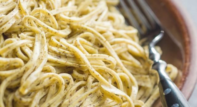 Tagliolini al limone: freschi, cremosi e facili da fare