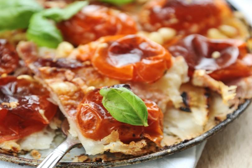 Torta salata con pomodorini senza glutine