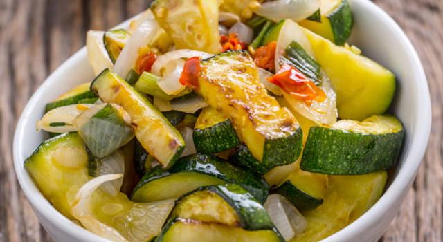 Zucchine in agrodolce: un contorno squisito!