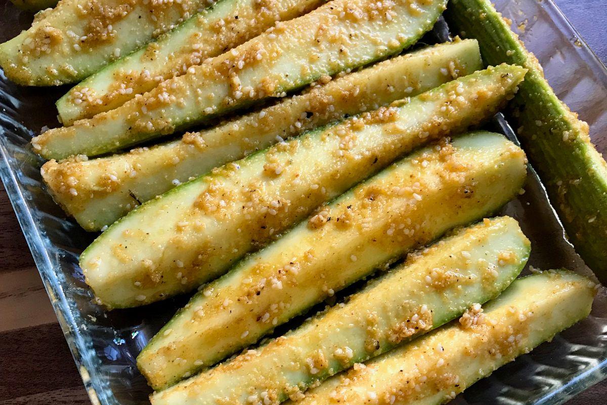 Zucchine al forno senza glutine