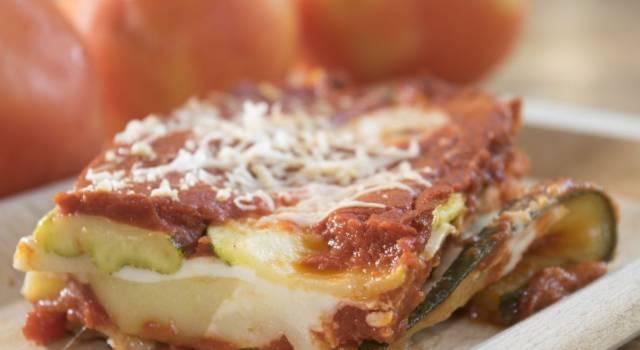 Zucchine alla parmigiana vegane: la ricetta con il tofu