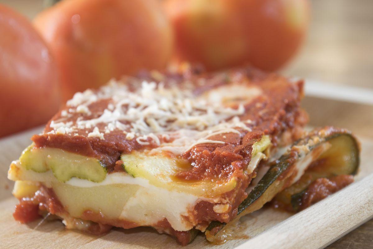 Zucchine alla parmigiana veg