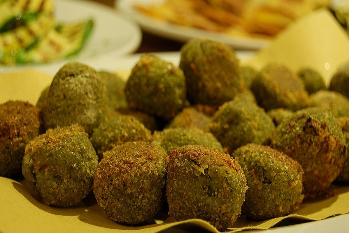 Polpette di verdure senza glutine