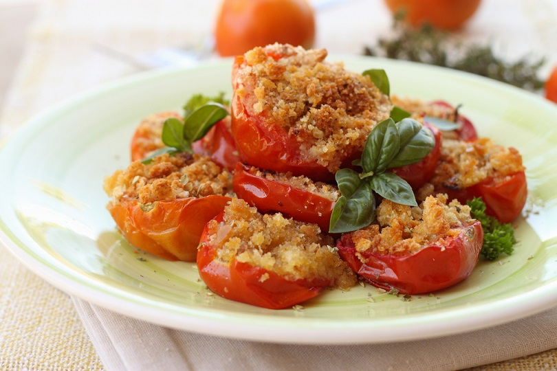 Pomodori gratinati senza glutine
