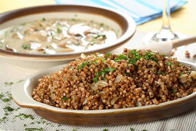 Quinoa con amaranto