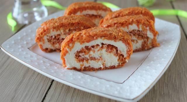 Ricetta del rotolo di verdure con carote: buonissimo!