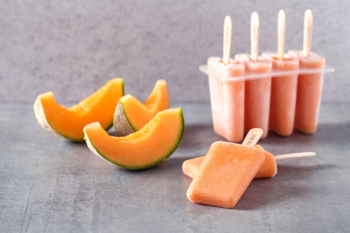 ghiaccioli al melone