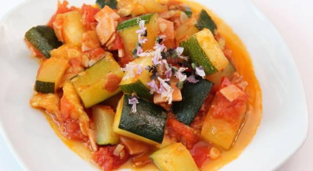 Minestra di zucchine alla molisana