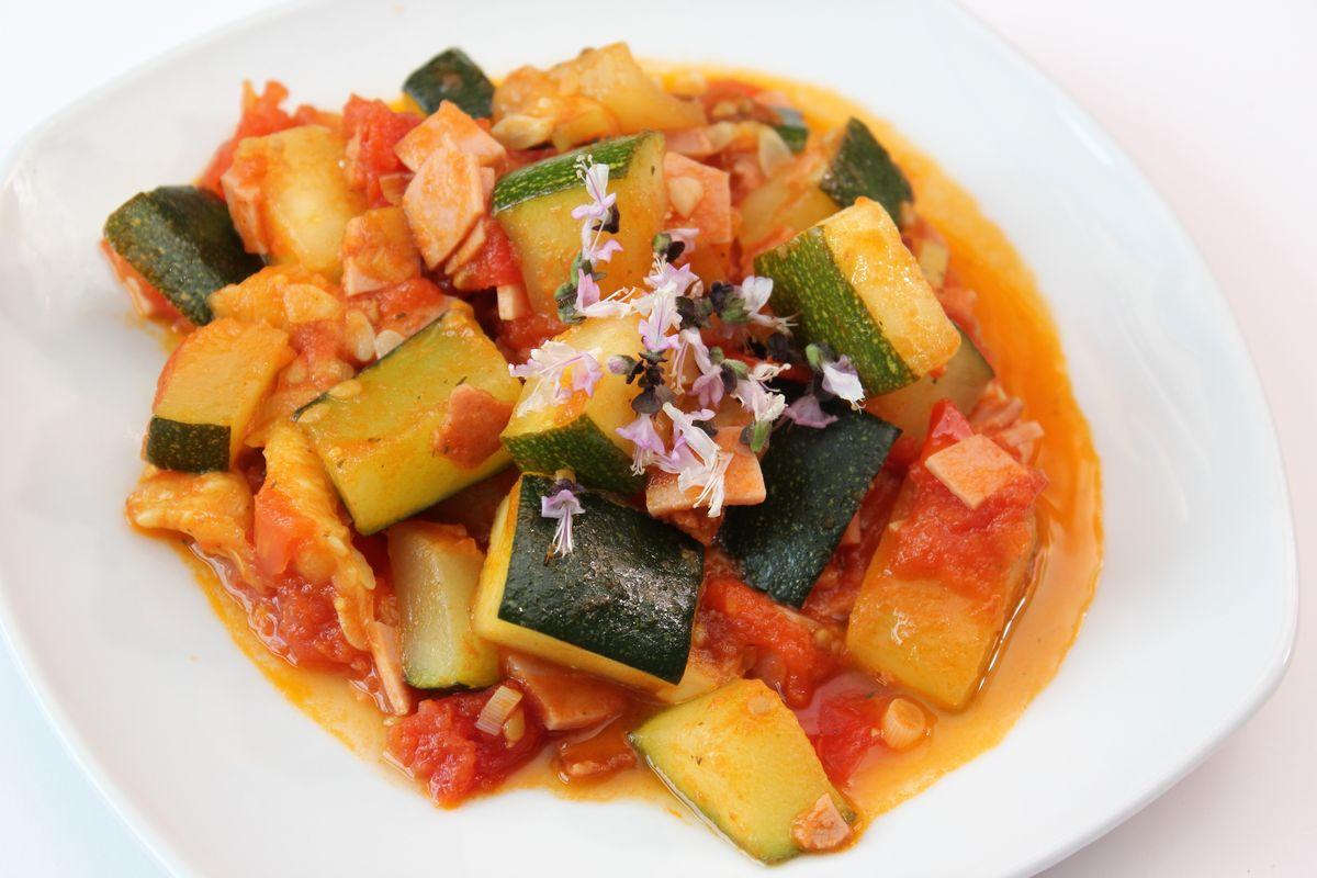 minestra di zucchine molisana