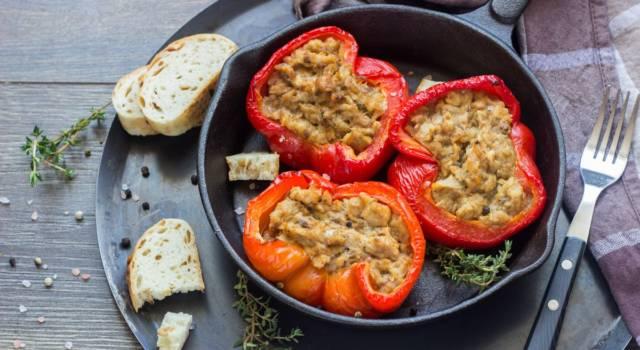 Peperoni ripieni di tonno al forno: da provare!