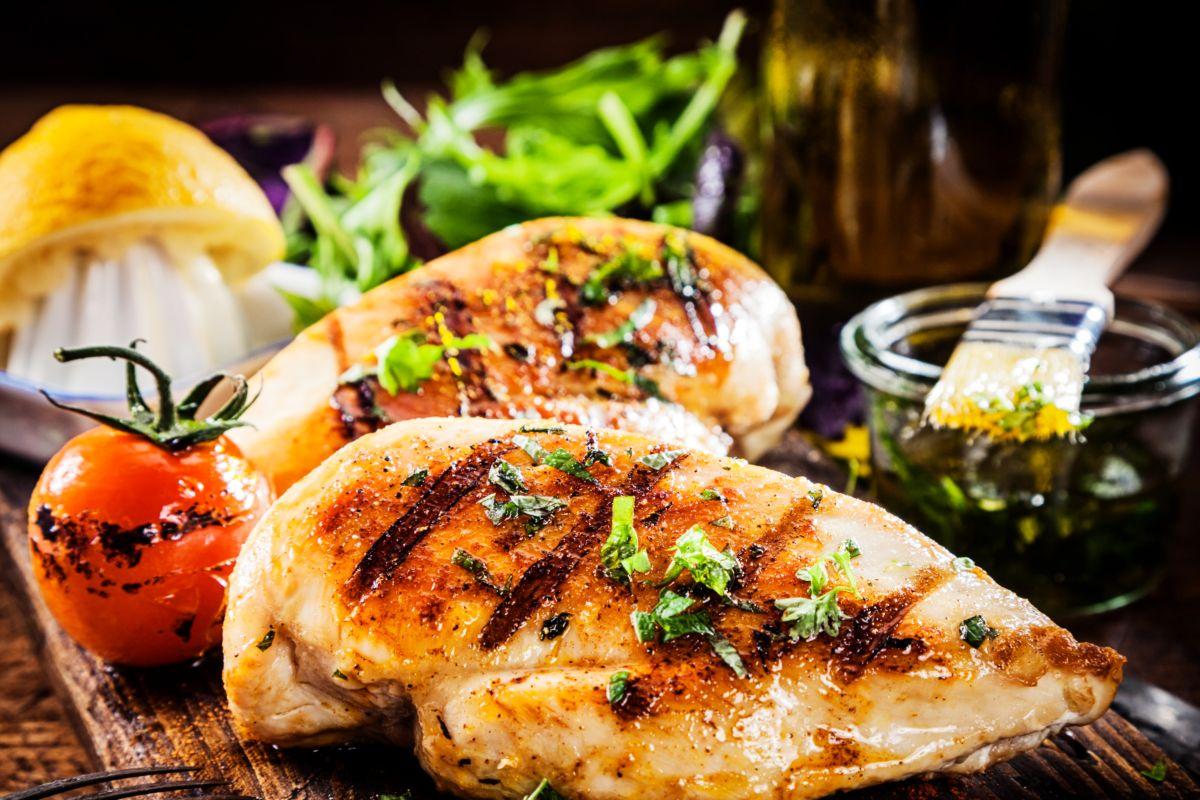 petti di pollo alla griglia