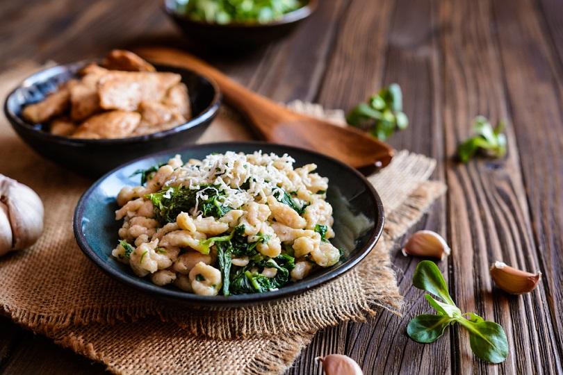 Pollo agli spinaci
