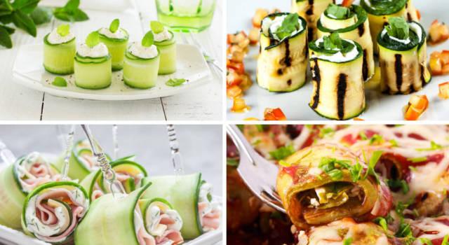 Involtini di zucchine: le ricette migliori per antipasti sfiziosi