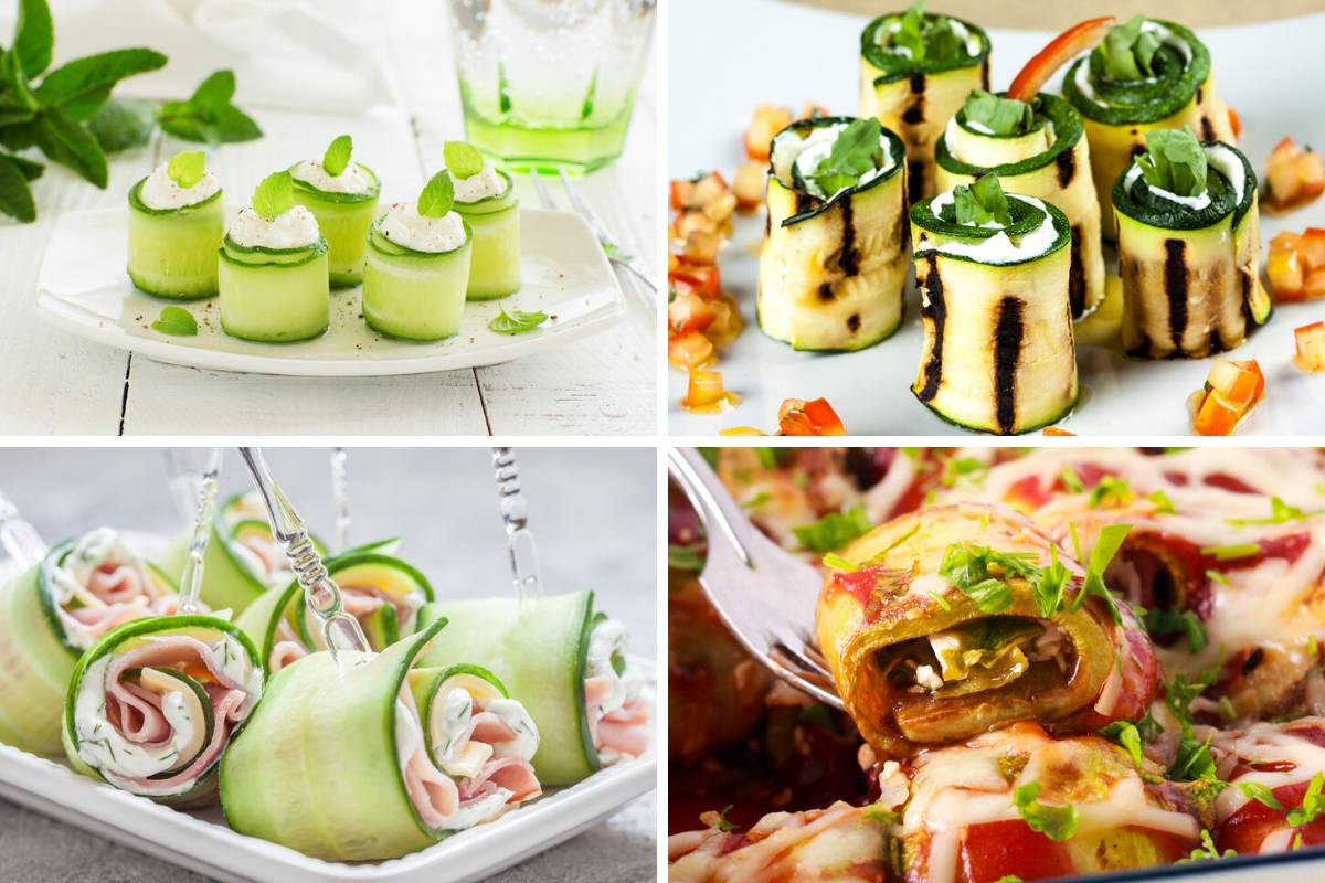 ricette di involtini di zucchine