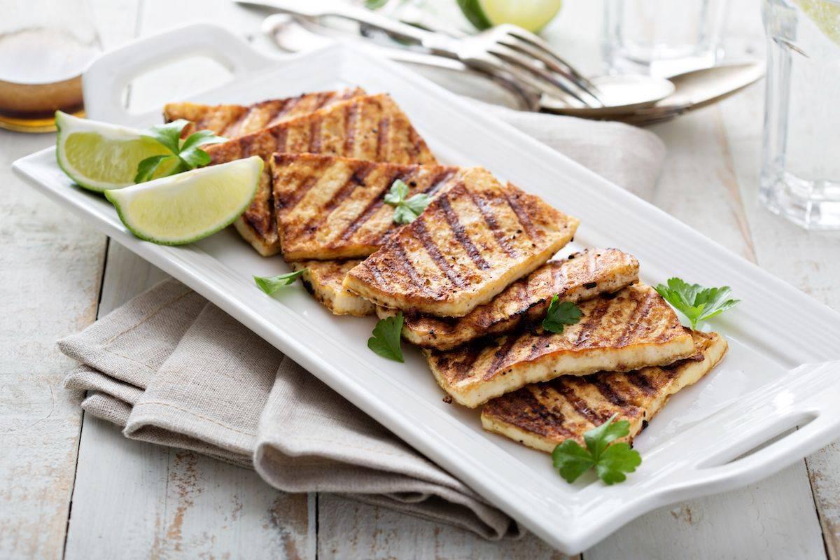 Tofu grigliato al limone