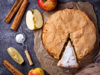 Torta di mele senza lievito ma soffice come l'originale