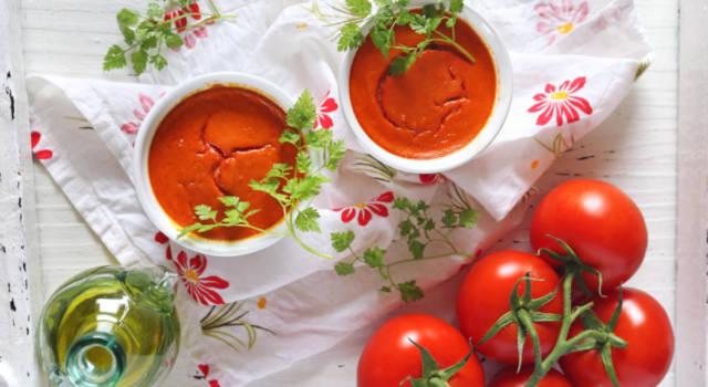 Tortino di pomodorini e mozzarella: buonissimo!