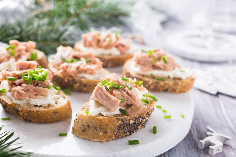Bruschette con tonno