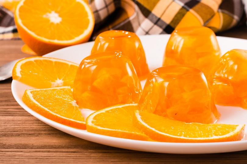 Gelatina di arancia